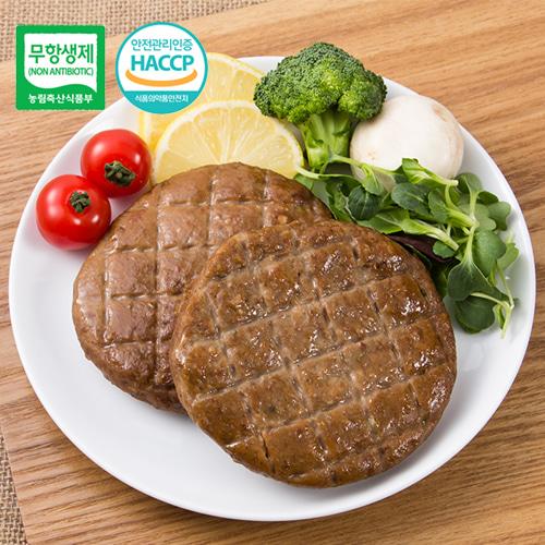 [안전한먹거리] 우수농특산물 품질인증 무항생제 오리 떡갈비 300gx5팩이식사