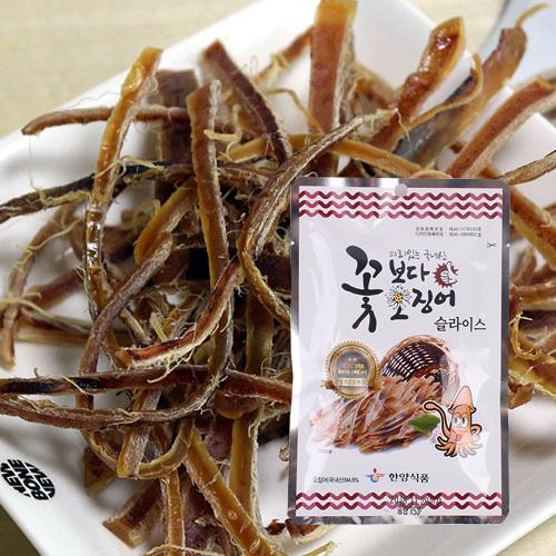 [의리있는오징어] 쫄깃,짭잘,달콤한 꽃보다 오징어 15gx20팩(슬라이스)이식사