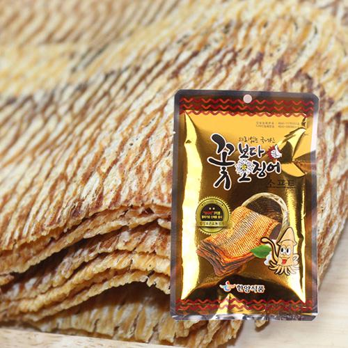 [의리있는오징어] 쫄깃,짭잘,달콤한 꽃보다 오징어 15gx5팩(소프트)이식사
