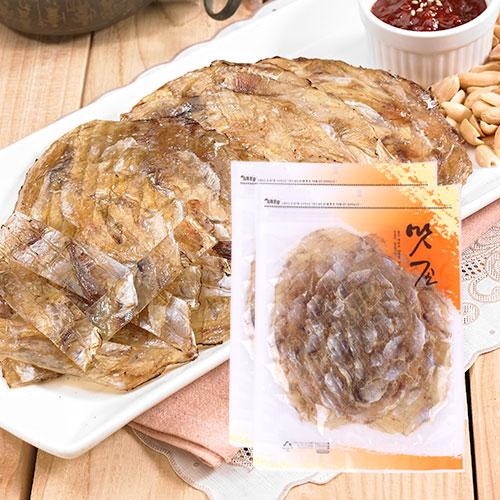 [맛존] 달콤 짭잘한 조미쥐포 100g(5장)x2봉이식사