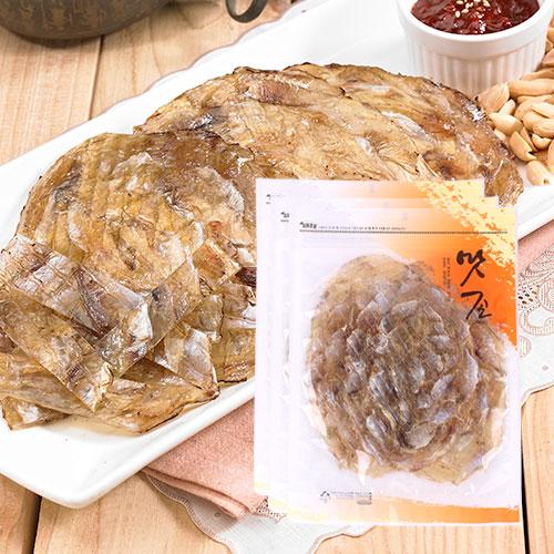 [맛존] 달콤 짭잘한 조미쥐포 100g(5장)x3봉이식사