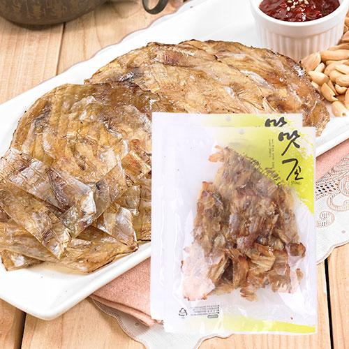 [맛존] 달콤 짭잘한 조미쥐포 구이채 120gx2봉이식사