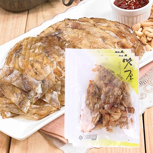 [맛존] 달콤 짭잘한 조미쥐포 구이채 120gx3봉이식사