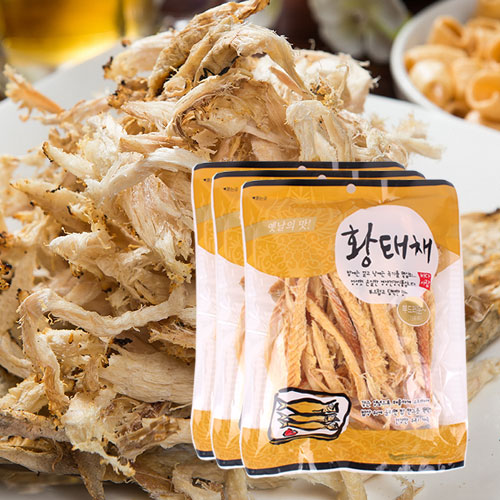 [간편조리] 부드럽고 담백한 황태채 120gx3봉이식사