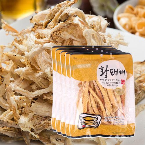 [간편조리] 부드럽고 담백한 황태채 120gx5봉이식사