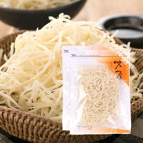 [맛존] 신선가득 백진미 오징어채 150gx2봉이식사