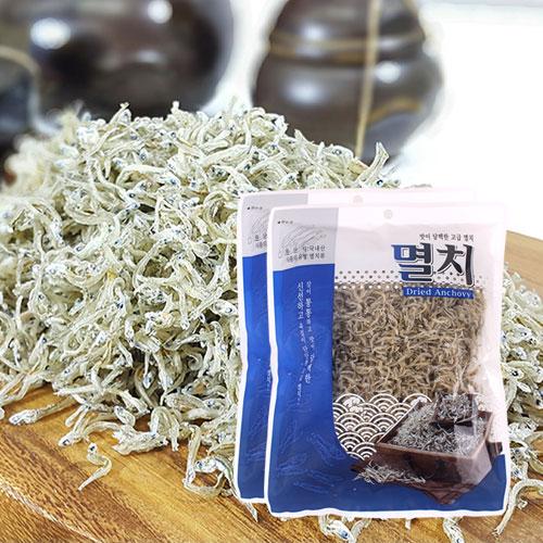 [남해청정] 신선하고 담백한 볶음용 고급멸치 200gx2봉이식사