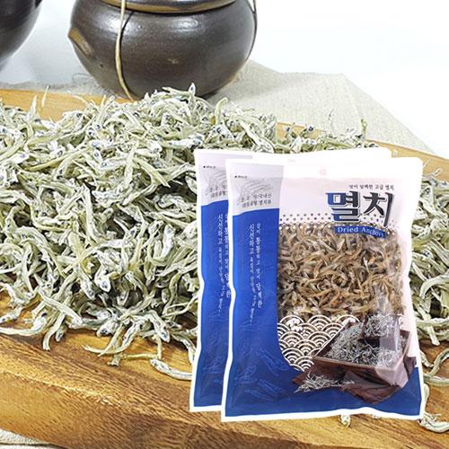 [남해청정] 신선하고 담백한 볶음,조림용 고급멸치 200gx2봉이식사