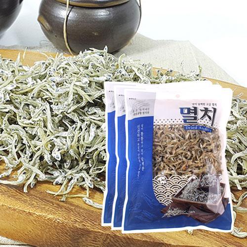 [남해청정] 신선하고 담백한 볶음,조림용 고급멸치 200gx3봉이식사