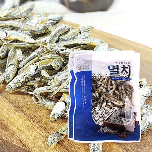 [남해청정] 신선하고 담백한 조림용 고급멸치 150gx2봉이식사