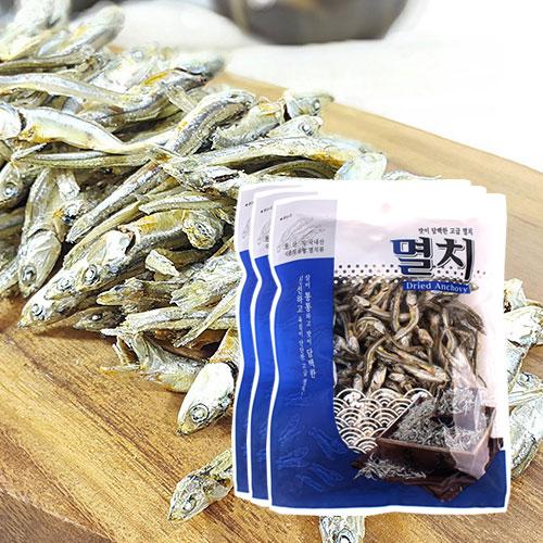 [남해청정] 신선하고 담백한 조림용 고급멸치 150gx3봉이식사