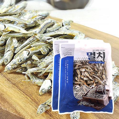 [남해청정] 신선하고 담백한 국물용 고급멸치 150gx2봉이식사