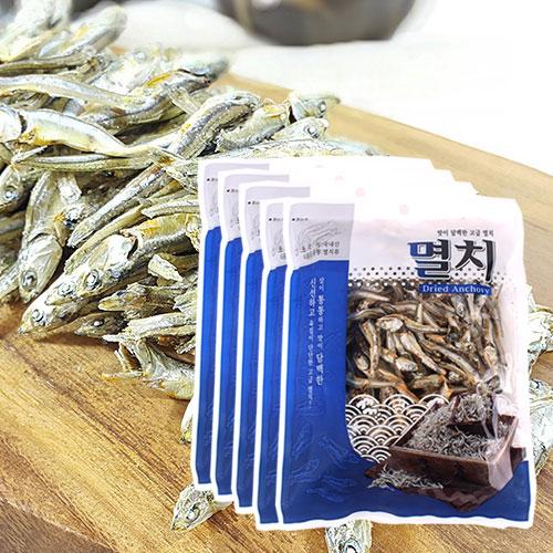 [남해청정] 신선하고 담백한 국물용 고급멸치 150gx5봉이식사