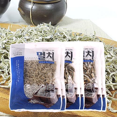 [남해청정] 신선하고 담백한 고급멸치 3종(볶음용,조림용,국물용)x각2봉이식사