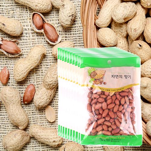 [산과들과] THE NUT 건강한 볶은 알땅콩 200gx10봉이식사