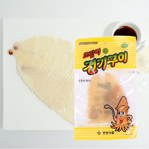 [의리있는오징어] 쫄깃,짭잘,달콤한 전기구이 오징어 30gx5팩이식사