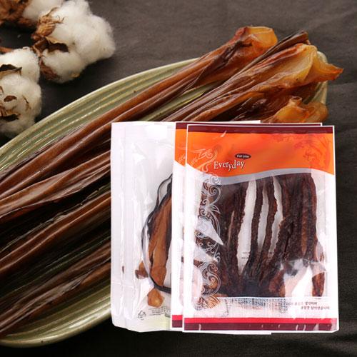 [간편간식] 쫄깃한 오징어 롱다리(2봉)+대왕발(2봉)이식사