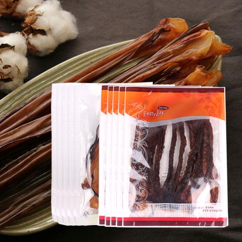 [간편간식] 쫄깃한 오징어 롱다리(5봉)+대왕발(5봉)이식사