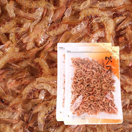 [간편조리] 고소하고 짭잘한 볶음용 두절 꽃새우(소) 120gx2봉이식사