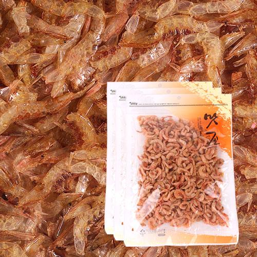 [간편조리] 고소하고 짭잘한 볶음용 두절 꽃새우(소) 120gx3봉이식사