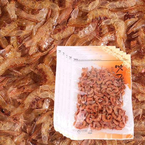 [간편조리] 고소하고 짭잘한 볶음용 두절 꽃새우(중) 120gx5봉이식사