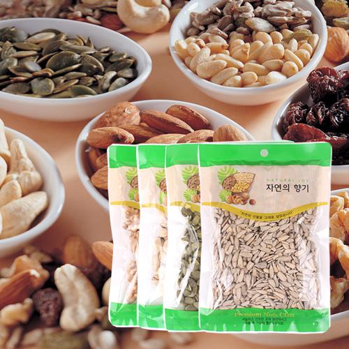 [산과들과] THE NUT 건강한 견과모듬(호두,파스타치오,호박,해바라기)x각1봉이식사