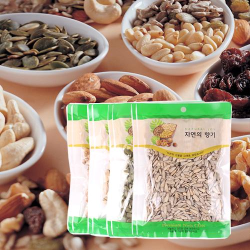 [산과들과] THE NUT 건강한 견과모듬(호두,파스타치오,호박,해바라기)x각2봉이식사