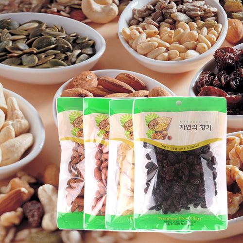 [산과들과] 견과모듬(아몬드,땅콩,바나나칩,건포도)x각1봉이식사