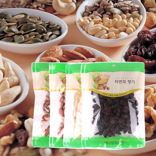 [산과들과] 견과모듬(아몬드,땅콩,바나나칩,건포도)x각2봉이식사