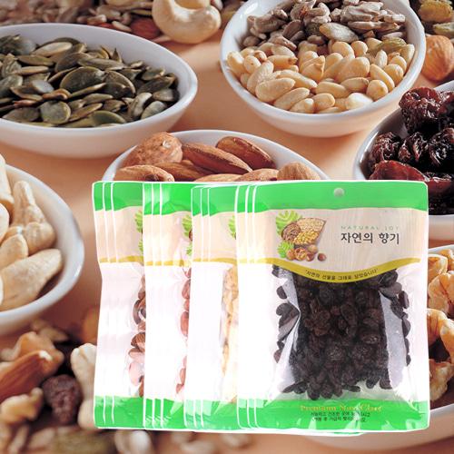 [산과들과] 견과모듬(아몬드,땅콩,바나나칩,건포도)x각3봉이식사