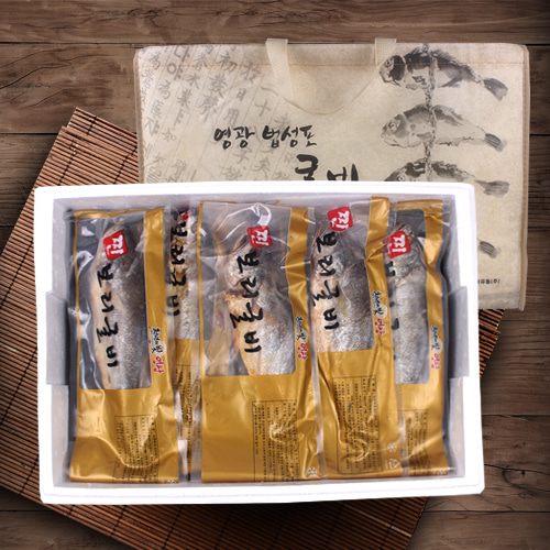 [영광법성포] 찐 마른보리굴비 5미/특(간편렌지용)이식사