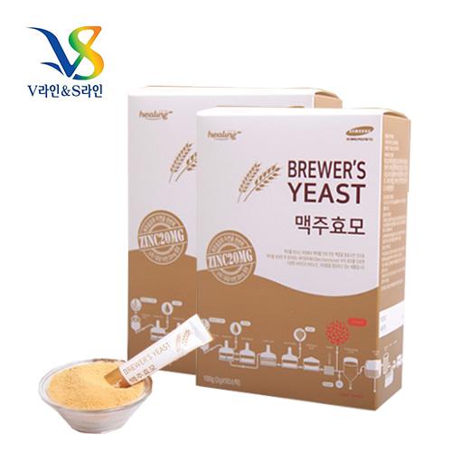 [힐링] 고품질 리투아니아산 맥주효모환 50스틱x2박스이식사