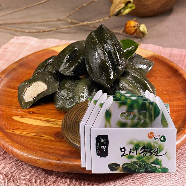 [19년설명절] [한산특산품] 특허받은 명품 모시잎 찐 송편 1.2kgx3박스