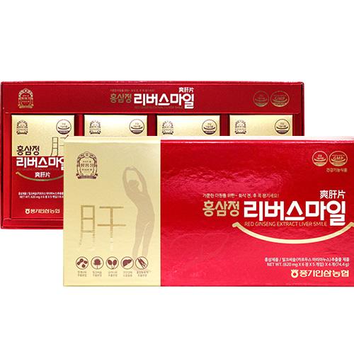 [황풍정] 홍삼정 리버스마일 620mgx120정이식사