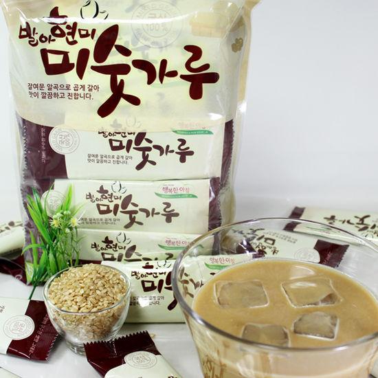 [행복우리식품] 무농약 발아현미가 함유된 발아현미 미숫가루 800g(25g*32개)*2봉이식사