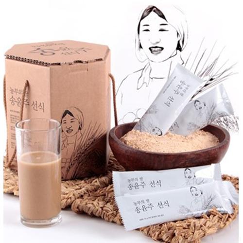 [농부의딸] 엄선된 25가지 국내산 재료만를 사용한 송윤주선식 30g*30포이식사