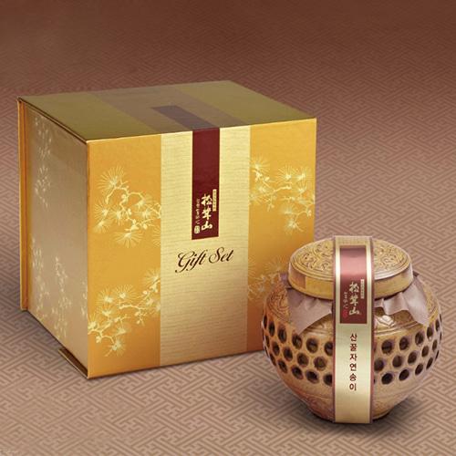 [9월20일 오전 9시 결제완료건 명절전 배송가능] [강원도] 특허받은 자연송이 꿀담은 선물세트 3호이식사